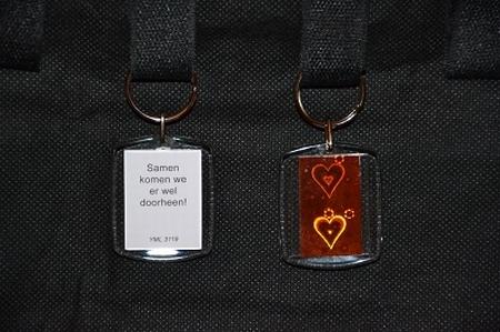 SH Reflections Koper hart 3119: Samen komen we er wel door