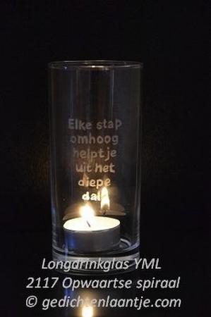 Sfeerlicht/Longdrinkglas YML 2117