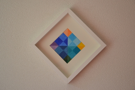 Color Square (12) - Out of the blue(s)