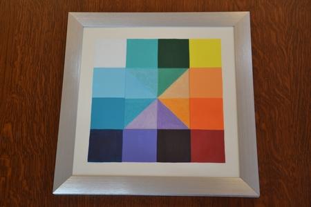 Color Square (13) - Combi acryl/pastel