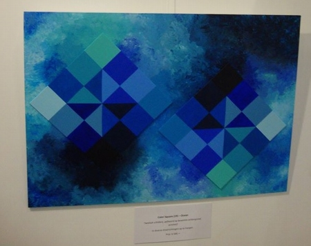 Color Square (19) - Double - Ocean