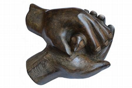 Bronzen beeld YML
