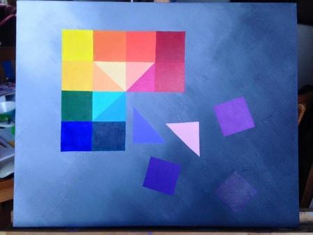 Acrylschilderij YML