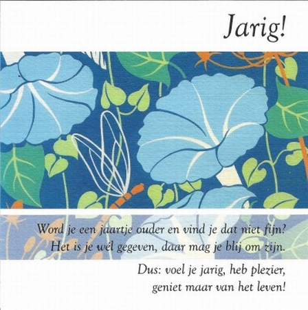 Jarig!
