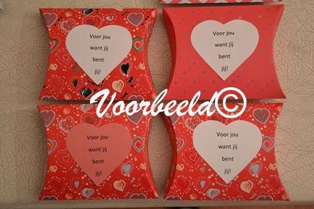 Cadeaudoosje YML 2183: Voor jou! (dessin)
