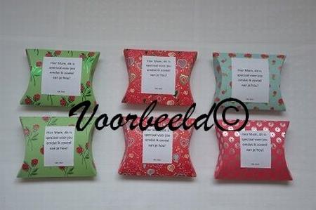 Cadeaudoosje YML 2543: Moeder