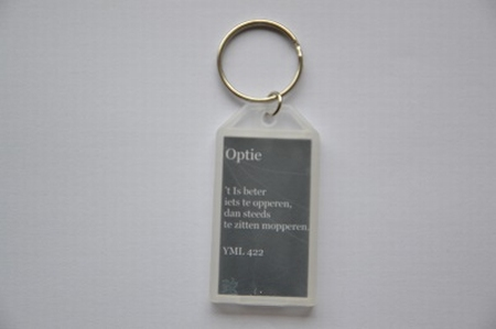 Sleutelhanger YML 422: Optie