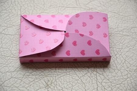Gevertje, hoog, roze met hartjes