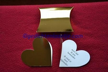 Hartkaart YML 2897 goud: Weet dat ik je bewonder