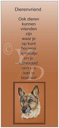 Boekenleggerkaart Y/D 002: Dierenvriend - Hond