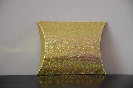 Cadeaudoosje mini, goud holografisch