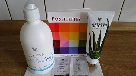 Forever Living Products / Positiefjes: Pakket 1
