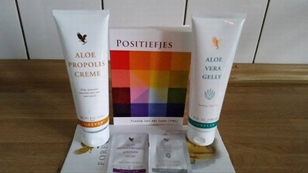 Forever Living Products / Positiefjes: EHBO-set