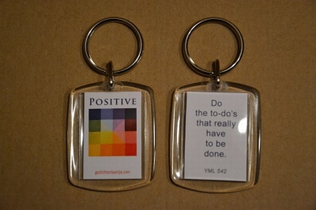 Positive 542: Do the to-do's that really have to be done