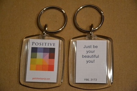 Positive 3173: Just be your beautiful you.