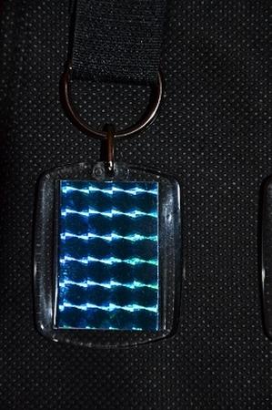 Sleutelhanger Reflections: Blauw