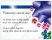 Gedichtkaart YML 1750: Cadeautje van de dag