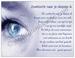 Gedichtkaart YML 1358: Zoektocht naar je diepste ik
