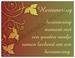 Gedichtkaart YML 1890: Herinnering